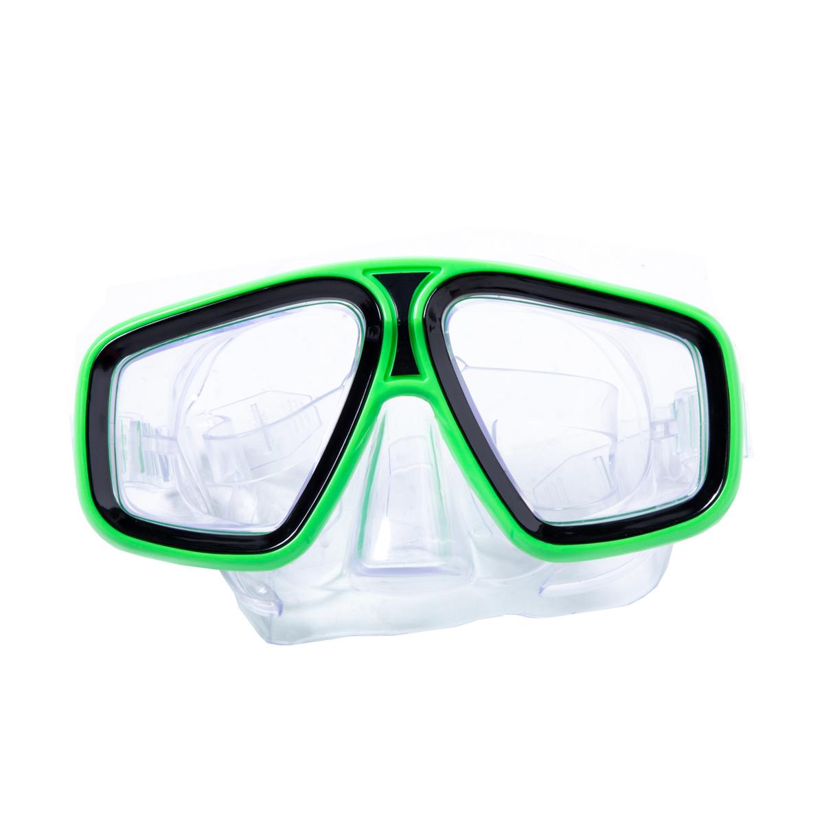 Laguna Green Swim Mask